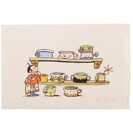 Liselotje kan een heleboel dingen. Dansen ... Maar één ding kan ze niet: plassen en poepen op een potje!